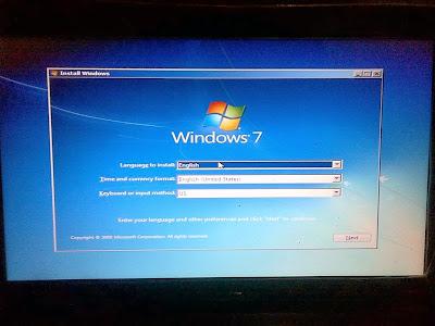 Laporan Praktikum Instalasi Sistem Operasi Windows Seven