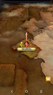 cara membuka map di Dragon Project