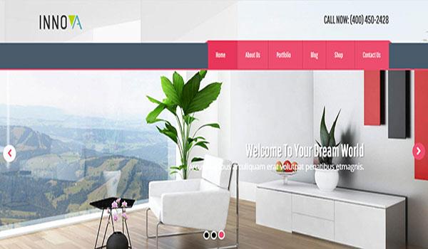 Innova-Interior-Funiture-WordPress-CMS-Theme