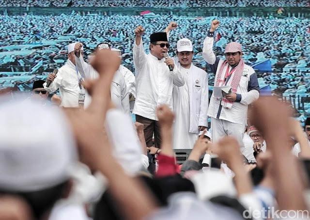 Hanura: Reuni 212 Giring Umat Pilih Capres yang Tak Paham Islam