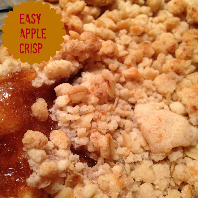 ... the menu today easy apple crisp it s apple fest week easy apple crisp