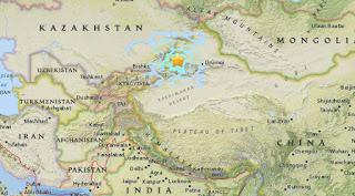 6,3R στα βορειοδυτικά σύνορα με το Καζακστάν