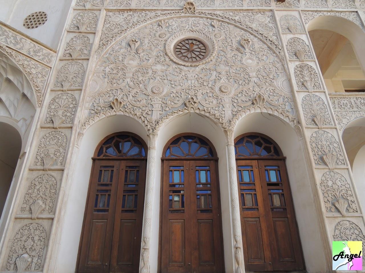 tabatabaei house window kashan iran