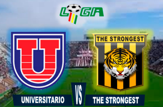 En vivo Universitario vs. The Strongest
