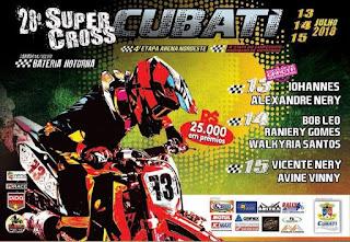 Cubati realiza o 28° edição do Supercross; veja programação
