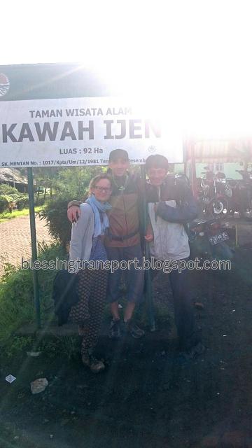 Ilka ziegler and michele from germany, transport for Bromo-Ijen-Bali(Munduk)