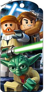 Para marcapáginas de Star Wars Lego.