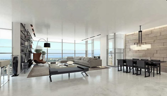 Living rooms with beautiful views