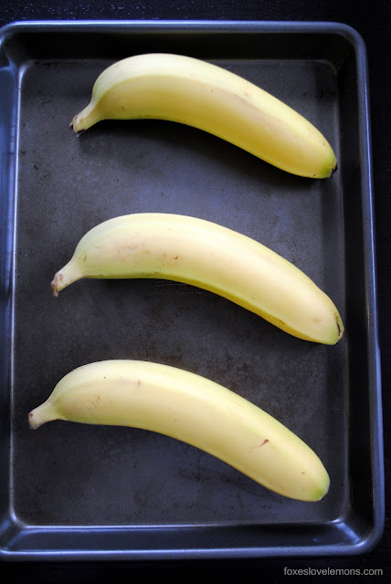 Use Your Oven to Quickly Ripen Bananas for Bread, Muffins, etc. | foxeslovelemons.com