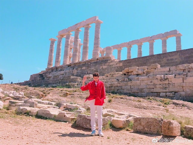 My Poseidon Leon Zhang Yunlong Greece