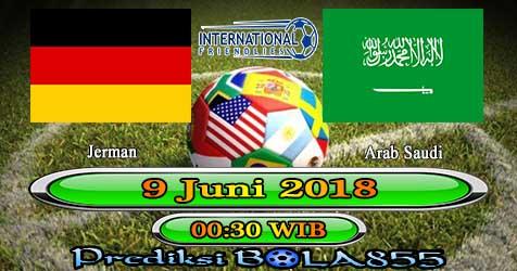 Prediksi Bola855 Germany vs Saudi Arabia 9 Juni 2018