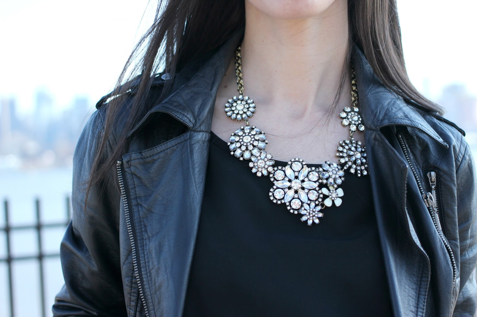 Vintage inspired statement necklace
