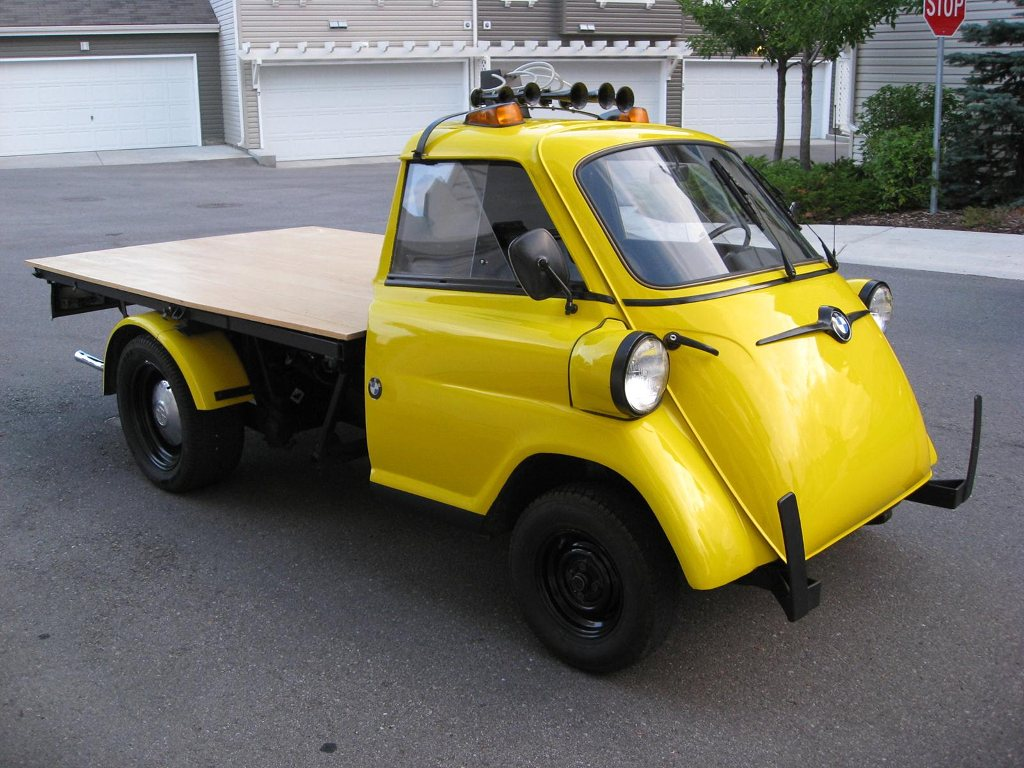 1959 Bmw Isetta Truck Is Awesome And For Sale Subcompact