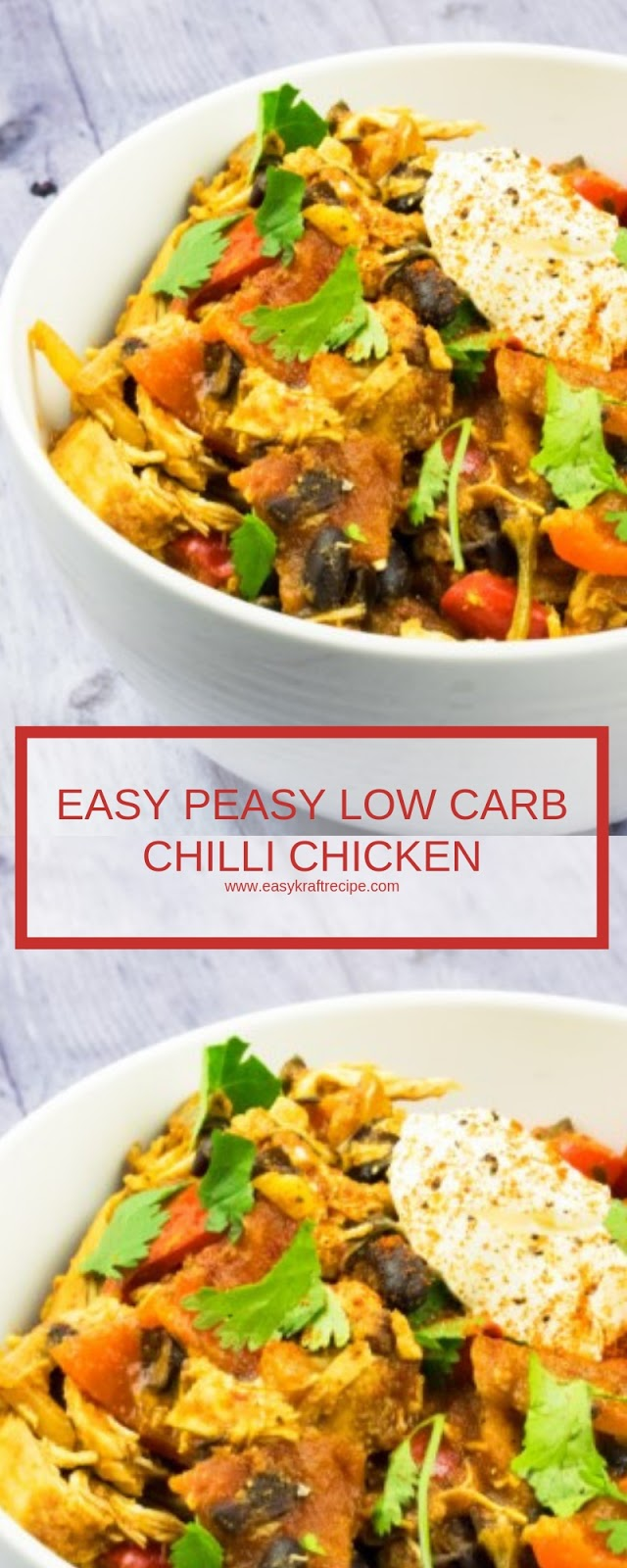 EASY PEASY LOW CARB CHILLI CHICKEN
