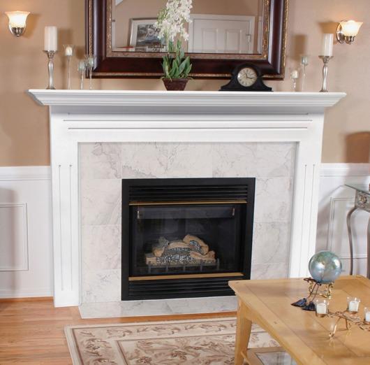 Home Interior Design Ideas Fireplace Mantels As A Center