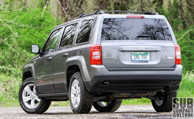 Review: 2012 Jeep Patriot Latitude 4x4: A compact ...