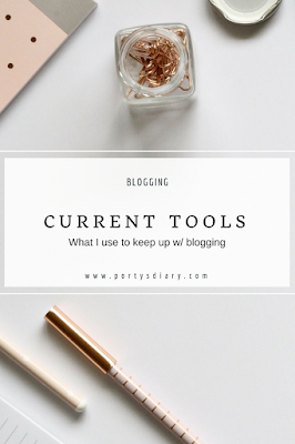 Blogging | Which tools I use to keep up with blogging.
