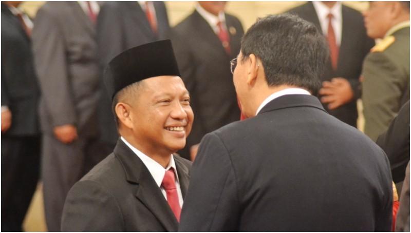 Tito Karnavian mendapat selamat dari Ahok usai dilantik menjadi Kepala BNPT