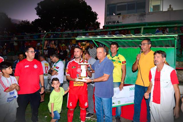 Internacional conquista título de campeão do ipiraense 2019