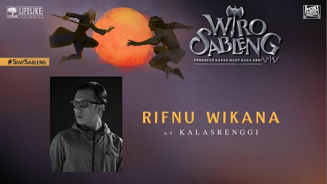 Rifnu Wikana sebagai Kalasrenggi/ Sumber foto @LifeLikePictrs
