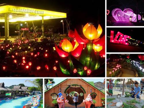 Lampion Garden Cikao Park Purwakarta