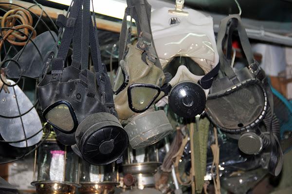 Mascaras de gas de la guerra de Vietnam