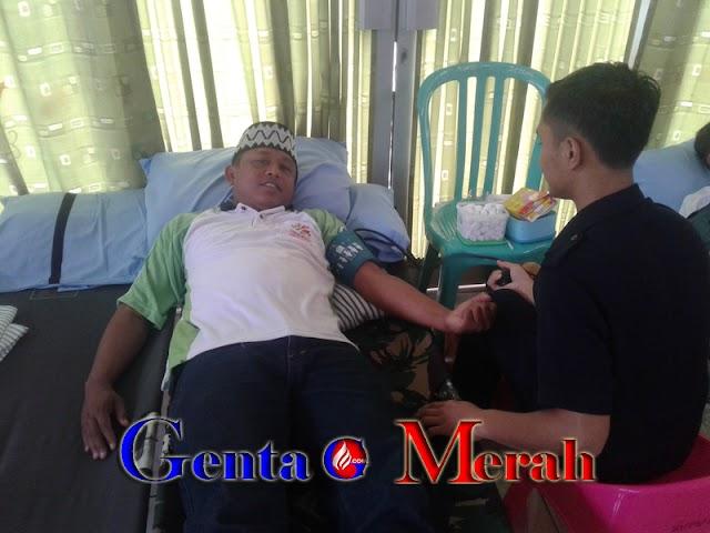 Gelar Donor Darah, FPLA Pesawaran Libatkan Ratusan Orang Berbagai Agama