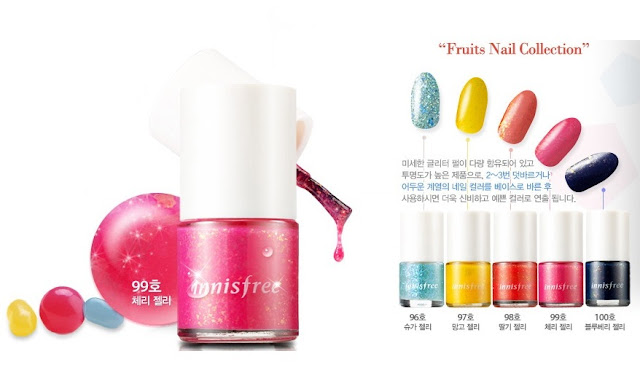 Innisfree Fruits Nail Collection