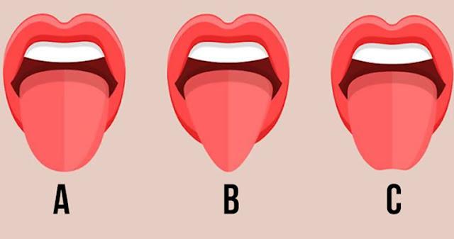 Форма вашего языка может многое рассказать о вас!