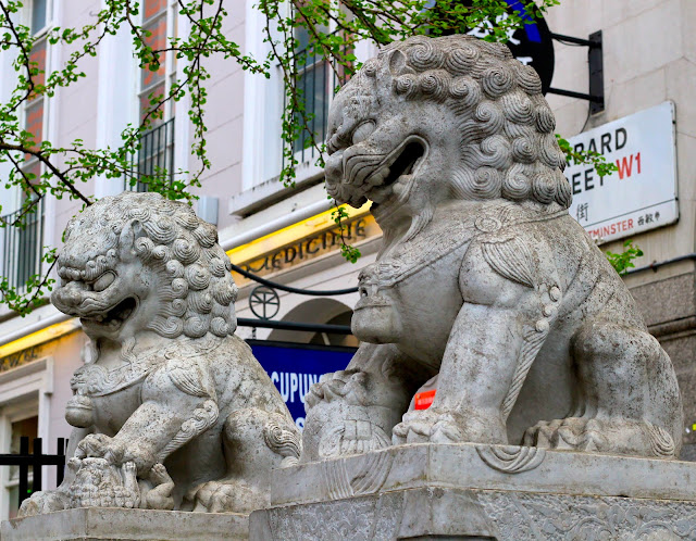 Lions Chinatown London UK Travel Blogger