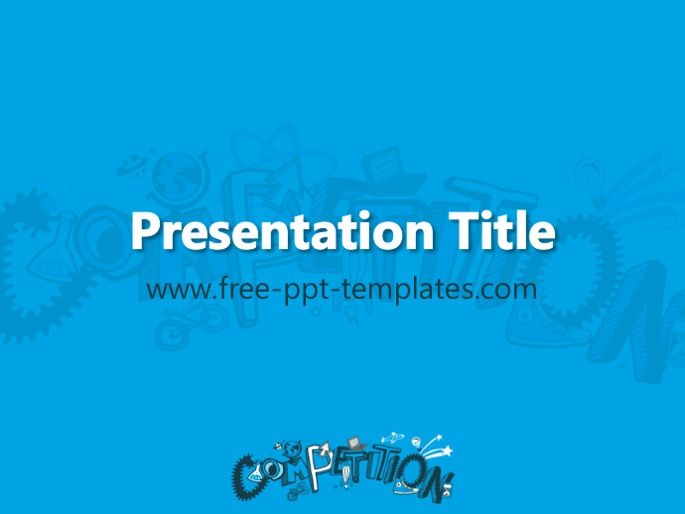 Free powerpoint templates competition ppt template toneelgroepblik Image collections