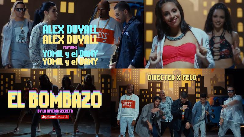 Alex Duvall & Yomil y El Dany - ¨El Bombazo¨ - Videoclip - Dirección: Felo. Portal del Vídeo Clip Cubano