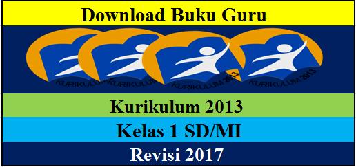 Buku Guru Kelas 1 SD/MI Kurikulum 2013 Edisi 2017