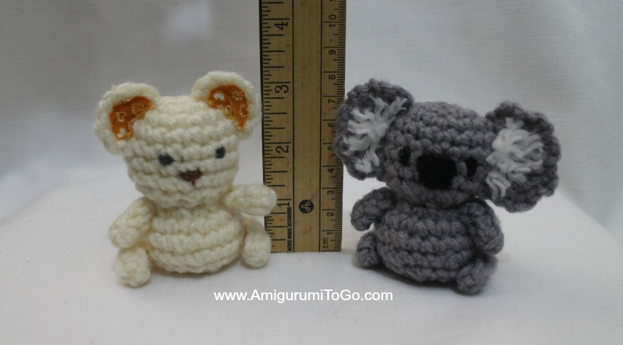 Amigurumi Free Patterns Bear : Lil' trouble teddy and friends ~ amigurumi to go