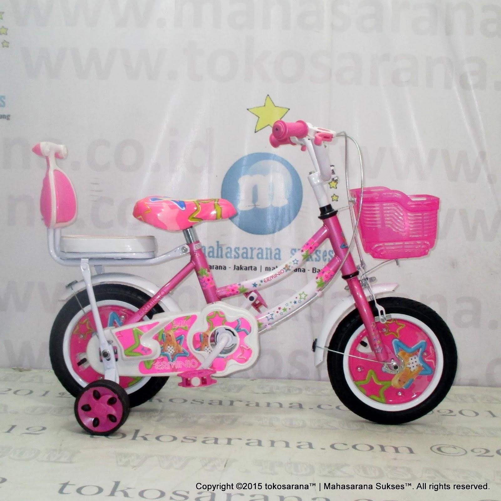Sepeda Anak Erminio 2401 Girl N Star 12 Inci News Untuk