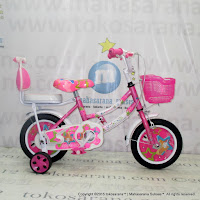 Sepeda Anak Erminio 2401 Girl n Star 12 Inci