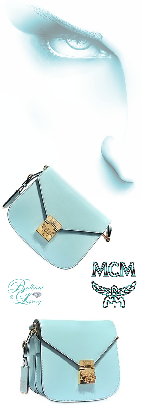 Brilliant Luxury ♦ MCM Patricia Shoulder Bag