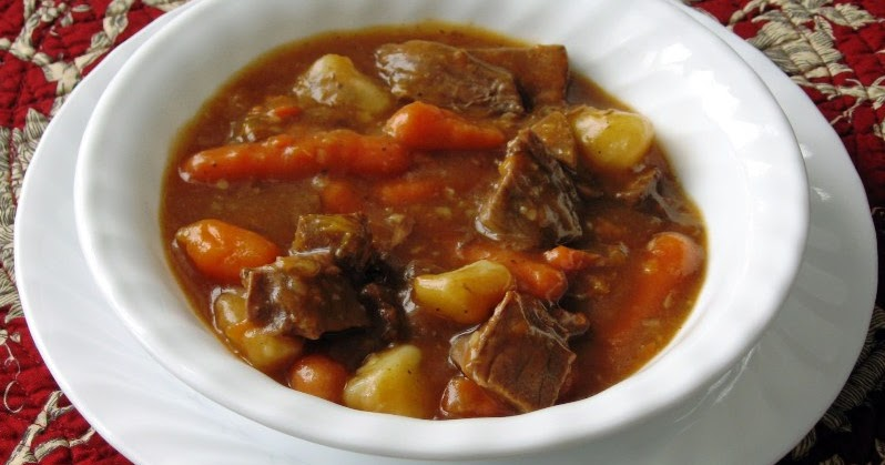 The Iowa Housewife: Quick Beef Stew