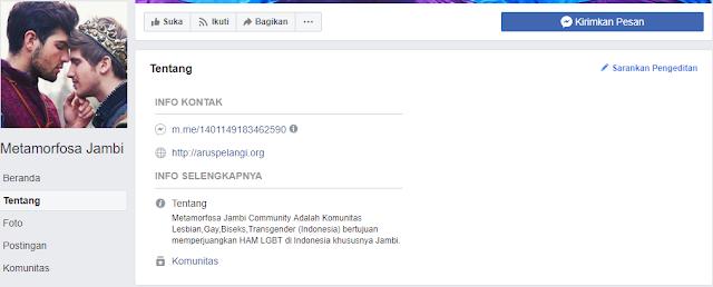 Astaghfirullah! Lewat Grup Facebook, Kaum LGBT Jambi Bertekat Perjuangkan HAM
