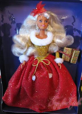 Коллекционные куклы 90х: рождественская кукла Sindy Noel Hasbro 1996