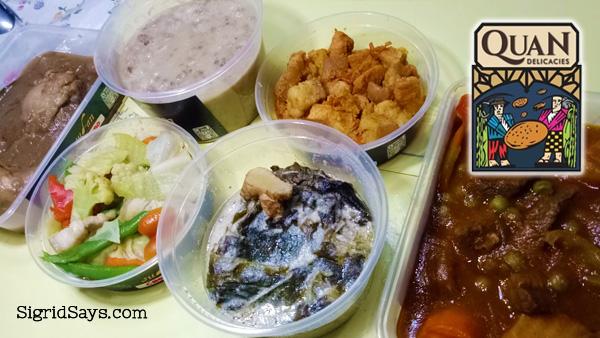 Quan Sud-an Bacolod restaurant - Quan Delicacies