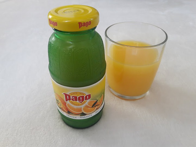 orange, juice, pago