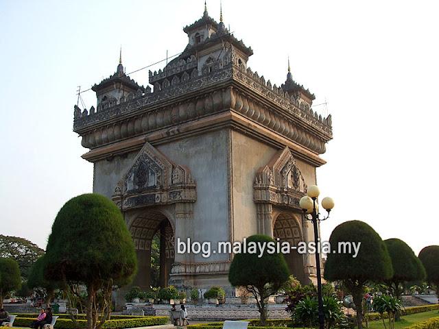 Vientiane Victory Monument