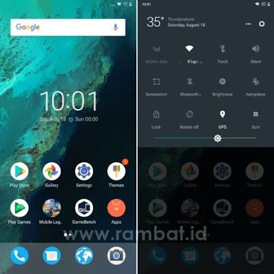 Tema Xiaomi MIUI 8 / MIUI 9 Terbaik dan Populer - Pixel N