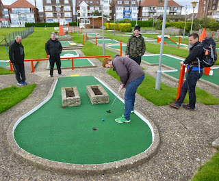 Arnold Palmer Crazy Golf course in Skegness