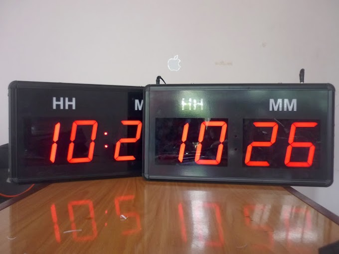 Đồng hồ điện tử 4 số Giờ Phút