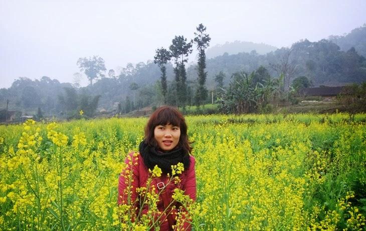 Hoa cai Ha Giang