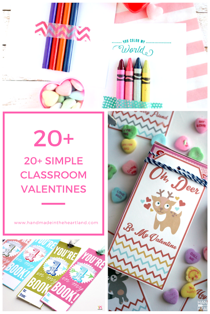 free valentines for kids classroom parties