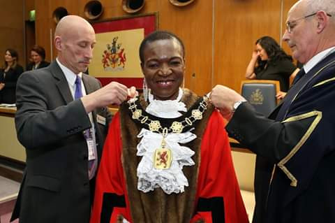 Photos: Nigerian woman elected Mayor of Enfield, UK