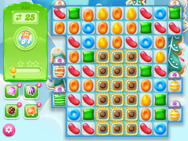 Candy Crush Jelly Saga level 585